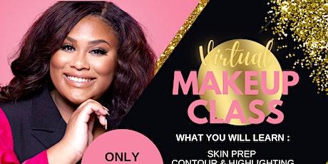 Virtual Makeup Class tickets