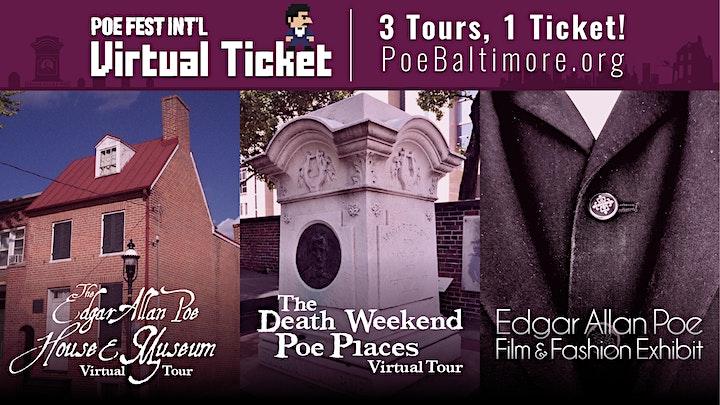 2021 International Edgar Allan Poe Festival & Awards image