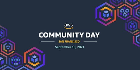 AWS Community Day, Bay Area, 2021 tickets