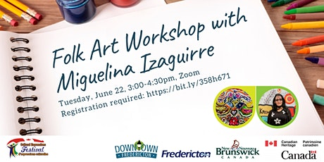 Folk Art Workshop with Miguelina Izaguirre tickets