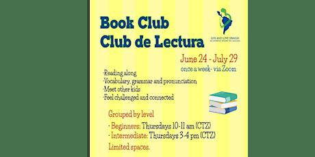 Virtual Book Club - Club de Lectura tickets
