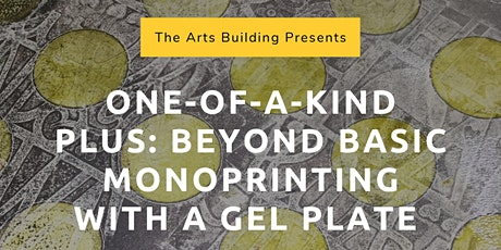 One-of-a-Kind Plus: Beyond Basic Monoprinting With a Gel Plate tickets