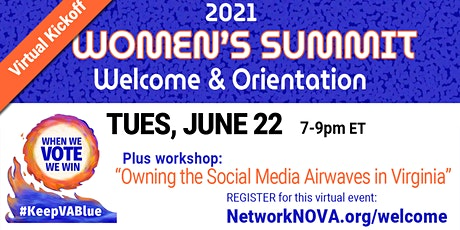 Welcome, Orientation & Workshop - Women's Summit 2021 tickets