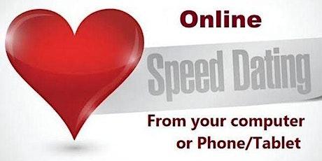 Online SPEED DATING 40s & 50s tickets