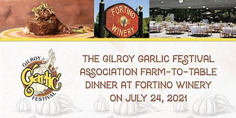 Gilroy Garlic Festival Farm to Table Dinner tickets
