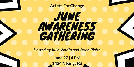Artists for Change - June  Awareness Gathering tickets