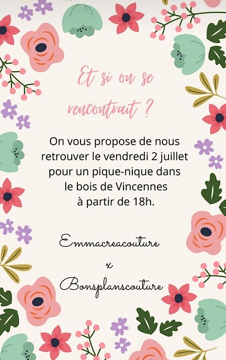 Pique-Nique Papotage Couture image