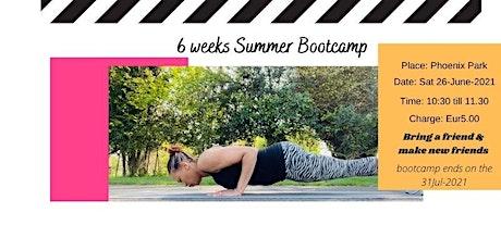 Ladies  6  Weeks Summer Bootcamp tickets