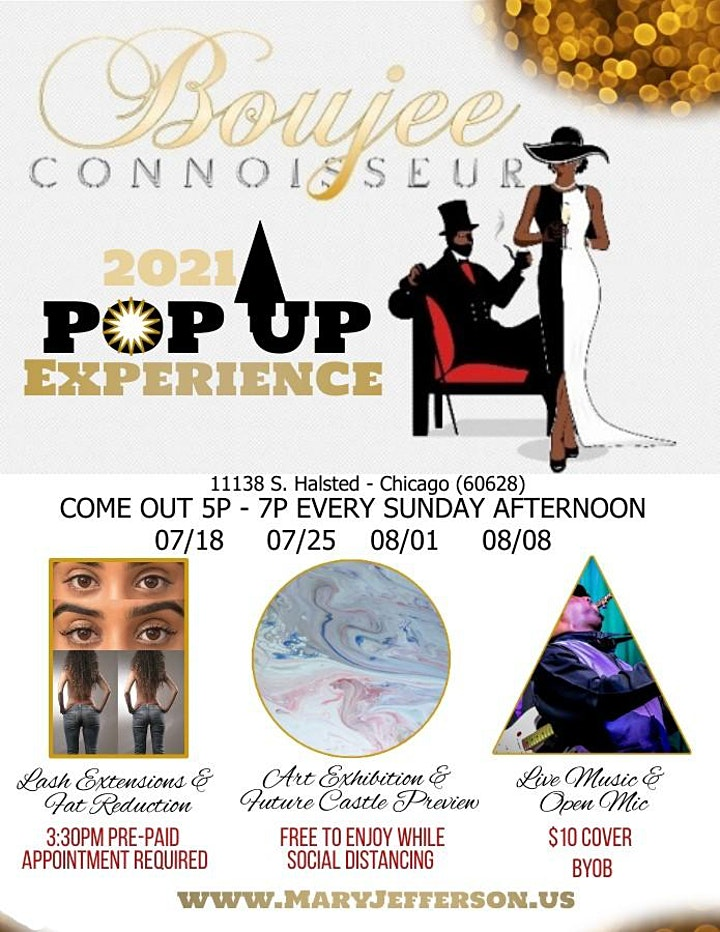 2021 POP-UP EXPERIENCE by Boujee Connoisseur image