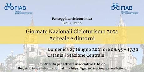 Giornate Nazionali Cicloturismo 2021 - Acireale e dintorni biglietti