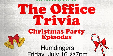 The Office Trivia: Christmas Party Episodes tickets