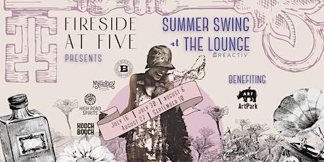 Summer Swing at The Lounge - Hooch Booch tickets