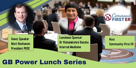 GB Power Lunch Series - July 2021 Monthly Luncheon tickets