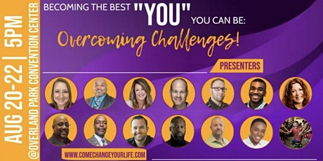 """Becoming the Best """"YOU"""" You Can Be: Overcoming Challenges tickets"""