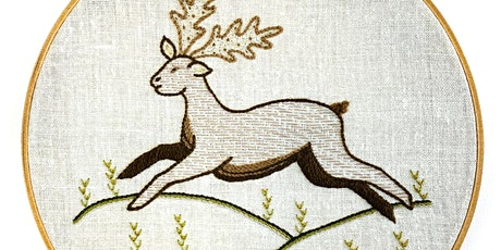 Introduction to Embroidery: Traditional Animal tickets