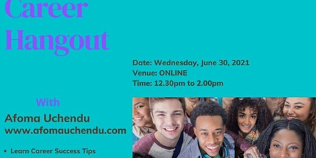 Career Hangout - Online Session tickets