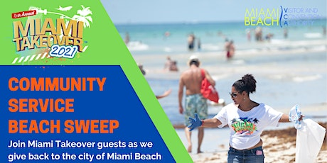 MTO2021: Community Service Beach Sweep  (Single Event Only) tickets