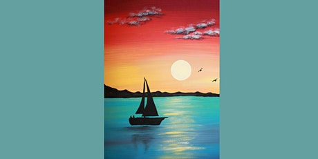 60min Learn to Draw a Scenery: Calm Lake @1PM  (Ages 6+) tickets