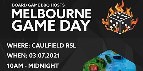 Board Game BBQ Melbourne Game Day #1 tickets
