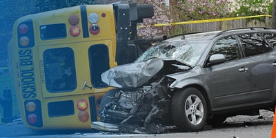 School Bus Crash ~ A Parent's Worst Nightmare!