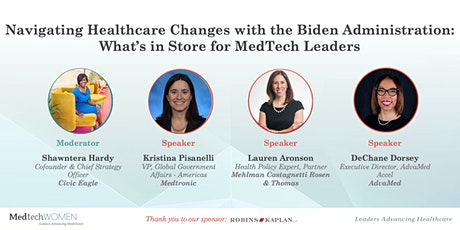 MedtechWomen: Navigating Healthcare Changes with the Biden Administration tickets
