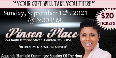 Encourage Me: Your Gift Will Take You There tickets