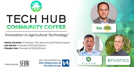 COMMUNITY COFFEE | Innovation In Agriculture Technology tickets