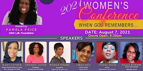 L.M. Foundation's 2021 Women's Conference, When God Remembers.... tickets