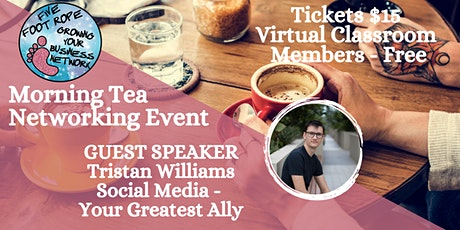 Five Foot Rope Morning Tea Networking Event - July tickets