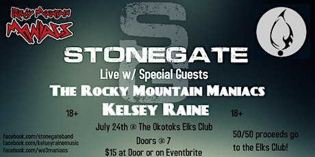 Stonegate w/Special Guests the Rocky Mountain Maniacs & Kelsey Raine tickets