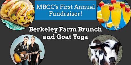Berkeley Farm Brunch and Goat Yoga tickets