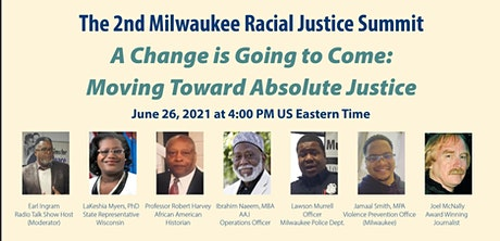 2nd Milwaukee Racial Justice Summit tickets