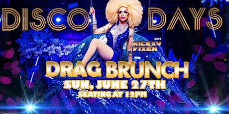 Disco Days Drag Brunch | SUN 06.27.21 tickets
