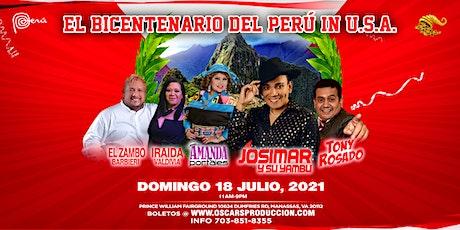 EL BICENTENARIO del PERÚ in U.S.A. tickets