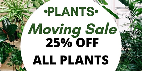 Sydney Inner West HUGE CLEARANCE PLANT SALE tickets