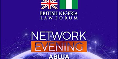 British Nigeria Law Forum Network Evening tickets