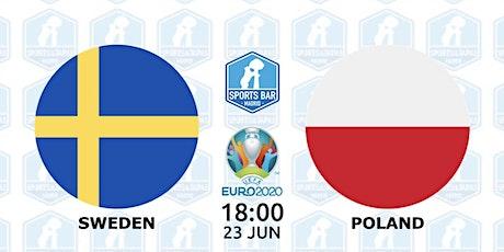 Sweden vs Poland   UEFA EURO 2020 in Madrid entradas