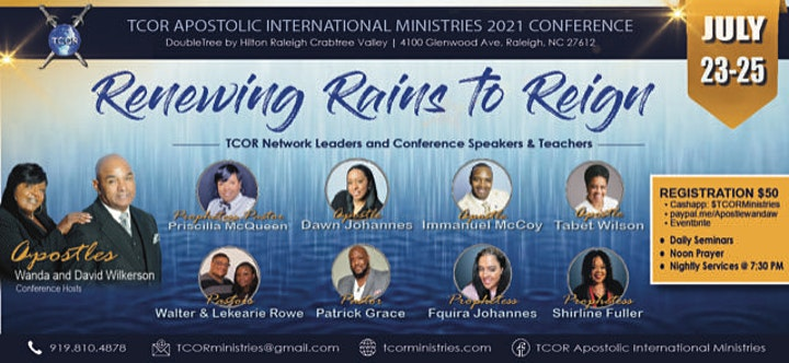 TCOR Annual Conference-Renewing Rains to Refreshing image