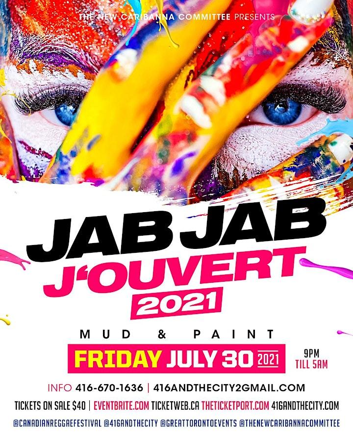 JAB JAB J'OUVERT  2021 image