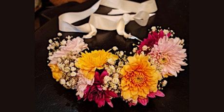 Flower Crown workshop for kids tickets
