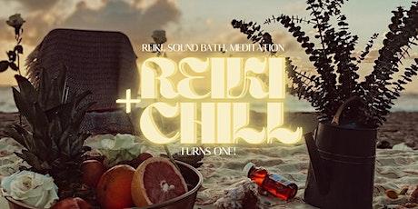 Reiki + Chill™ One Year Anniversary tickets