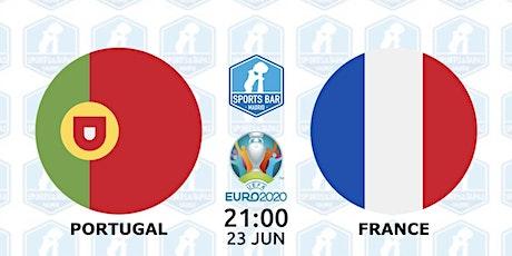 Portugal vs France | UEFA EURO 2020 in Madrid entradas