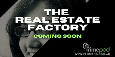 The Real Estate Factory - Launch biglietti