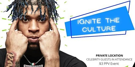 NLE Choppa's Ignite the Culture Charity Event tickets