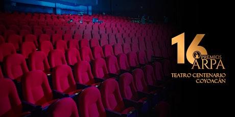 16 Edición Premios Arpa boletos