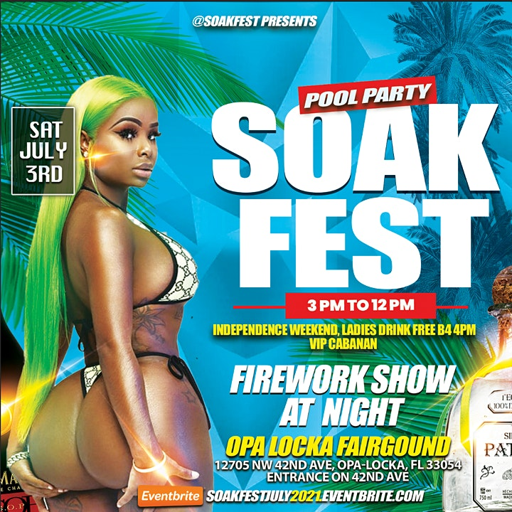 Soak Fest Pool Party - 4th Of July Weekend - Independence Day image