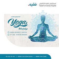 Complimentary Yoga Workshop at FUH tickets