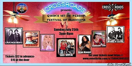 QWiM's 1st IN-person Festival of Musicians!! tickets