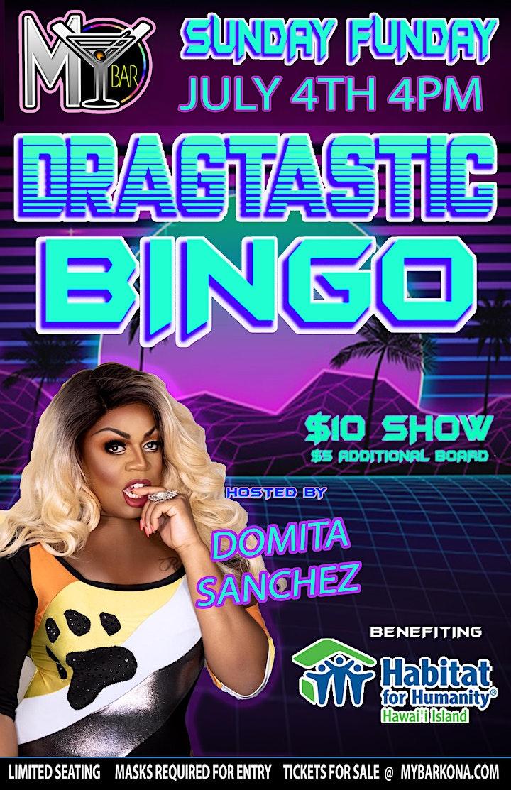 DRAGTASTIC BINGO W/ DOMITA SANCHEZ @MY BAR! image