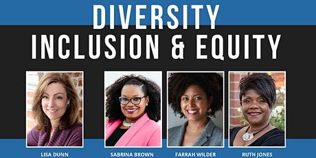 Deliberate Discussions About Diversity, Inclusion and Equity tickets